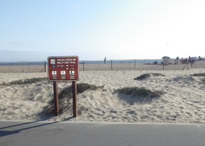 Bolsa Chica Multi Use Trail Section