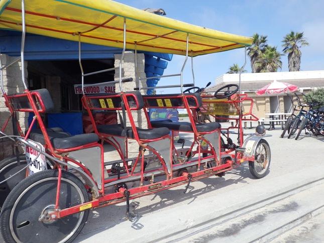 Huntington State Beach Bike Path Southern California Beaches