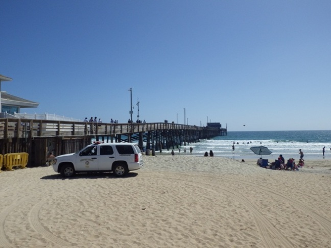 Newport Beach Near Pier