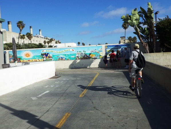 End Of The Hermosa Bike Path At Herondo St