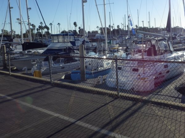 Marina Del Rey Bike Path