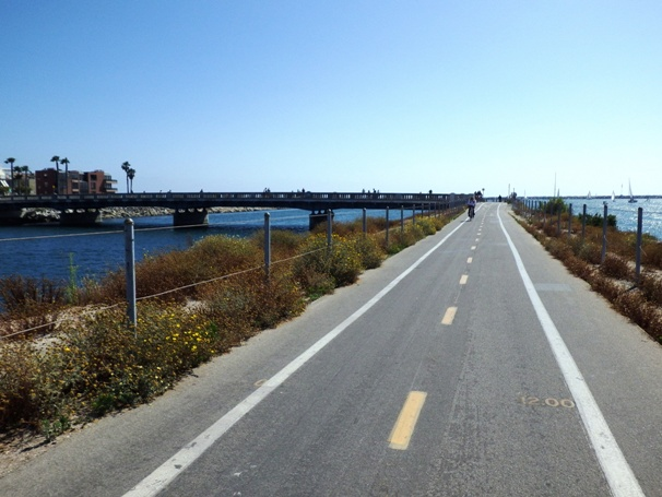 Ballona Creek Bridge View