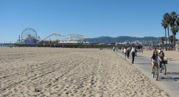 Santa Monica Bike Path South Of Pier