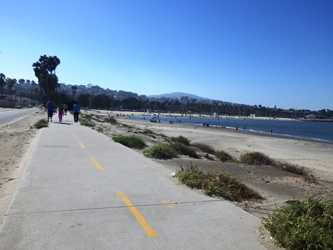 Bike Path towards Cabrillo Beach