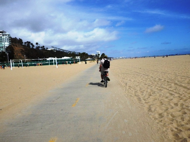 Bikes You Can Ride On The Beach Sand The path takes you past many
