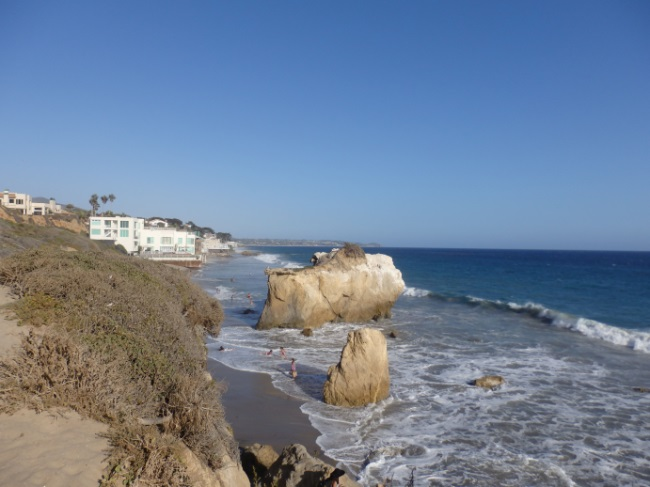 El Matador Beach from Cliff View