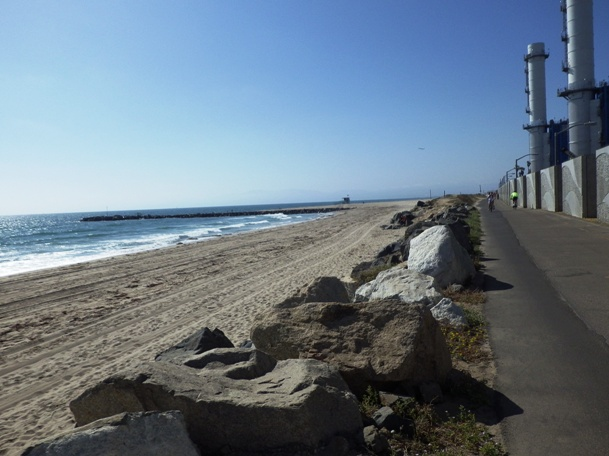El Segundo Beach View To North