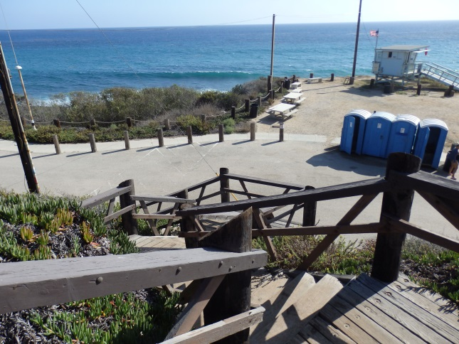 Nicholas Canyon Stairs to Lifeguard Tower