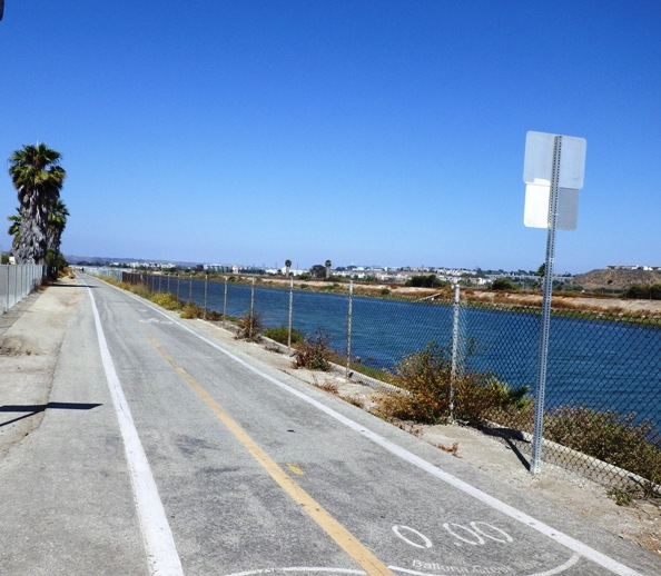 Ballona Creek Bike Path Start