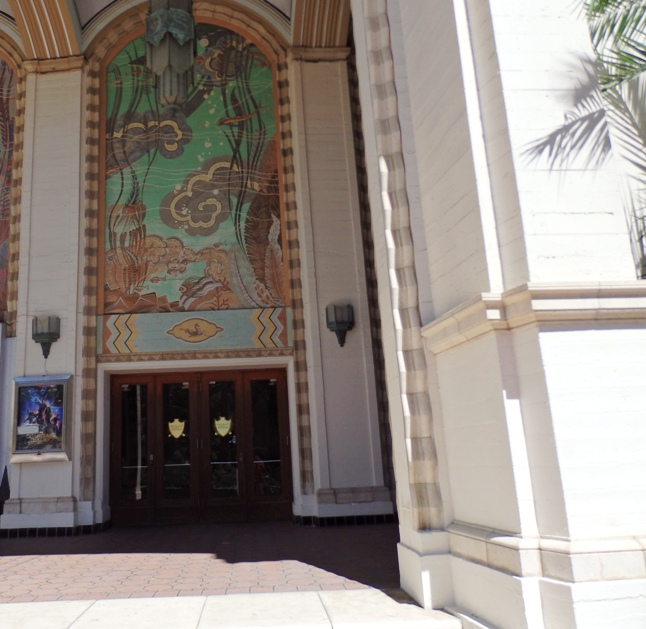 Arched Entry Way into the Casino Theater