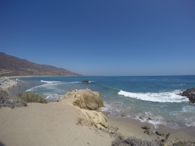 Leo Carrillo Beach Looking South