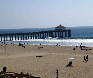 Manhattan Beach Pier View