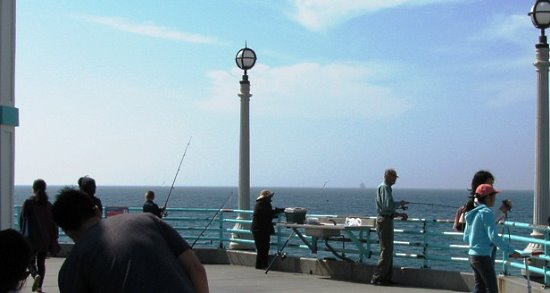 Manhattan Beach Pier Fishing