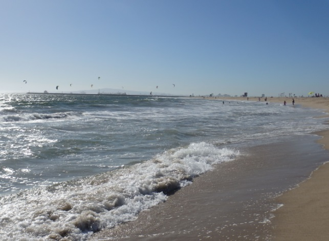 Seal Beach North Side Windsurfing