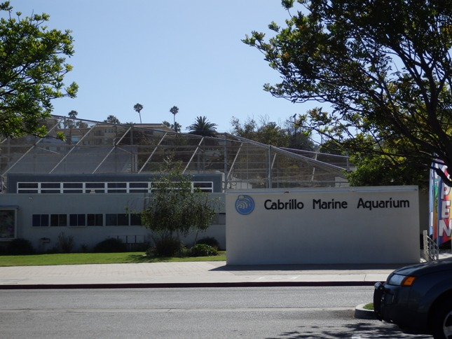 Cabrillo Marine Aquarium Entrance