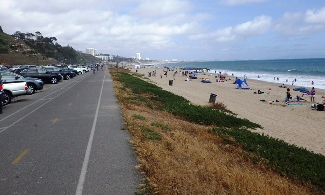 Will Rogers Beach Bike Path